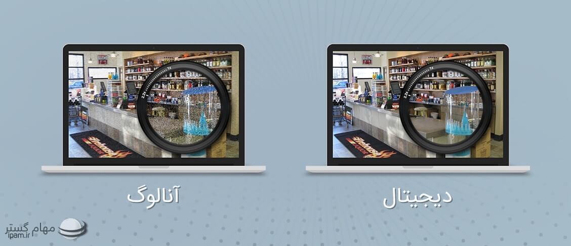 تفاوت دو دوربین مداربسته آنالوگ و دیجیتال(IP)